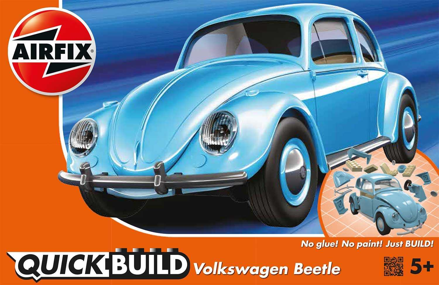 Quick Build auto J6015 - VW Beetle - nová forma