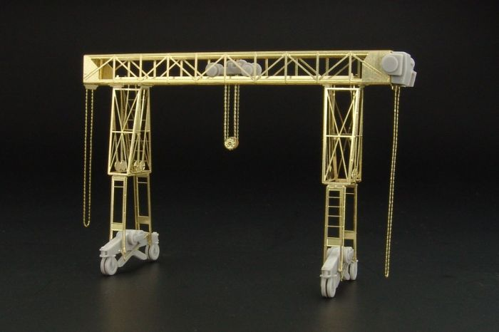 1/72 Fries 16t german crane resin construction kit of german crane