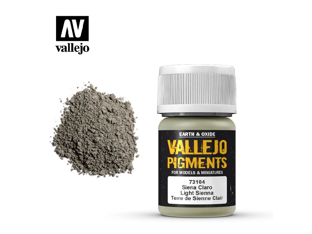 Vallejo - Pigmenty 73104 Light Sienna 35 ml.