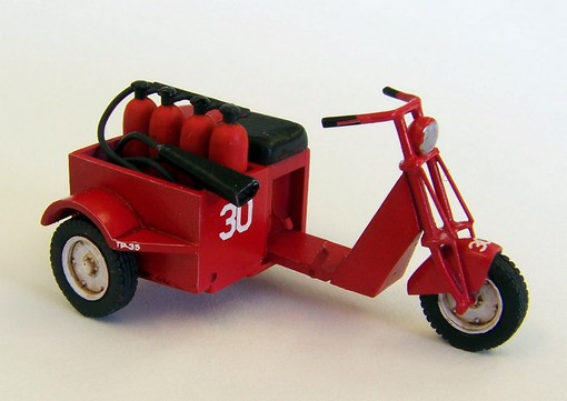 1/48 U.S. Scooter fire fighter