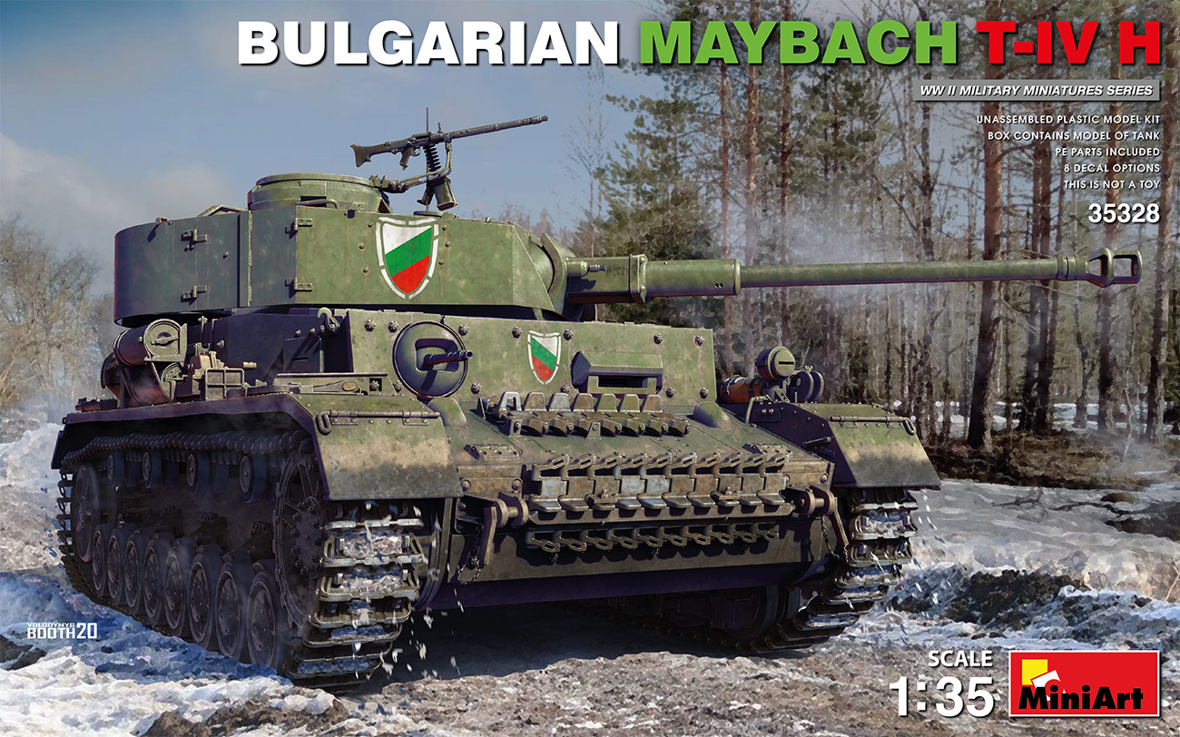1/35 Bulgarian Maybach T-IV H - Miniart